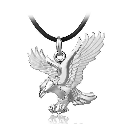 Silver eagle men's pendant sterling silver 999