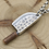 Thumbnail: Silver creative design kitchen knife pendant sterling silver 925