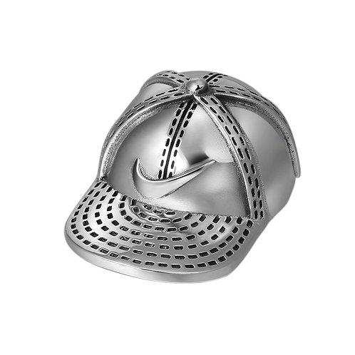 Creative fashion sports cap pendant sterling silver 925
