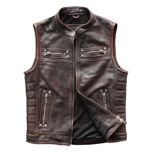 Men's Premium Cow Leather Vest