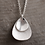 Thumbnail: Silver creative design Clavicle sweater pendant sterling silver 925