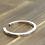 Thumbnail: Retro unique style fashion design couple bracelet sterling silver 925