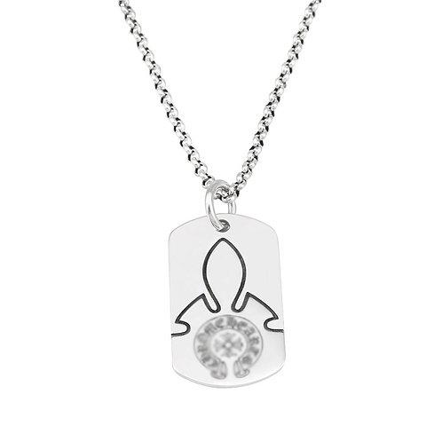 Fashion simple design silver crucifer pendant sterling silver 925