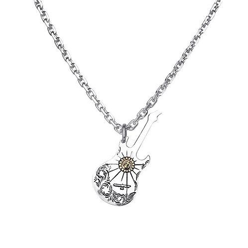 Goro's guitar eagle fashion design pendant sterling silver 925