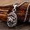 Thumbnail: Silver retro monkey king men's pendant sterling silver 925