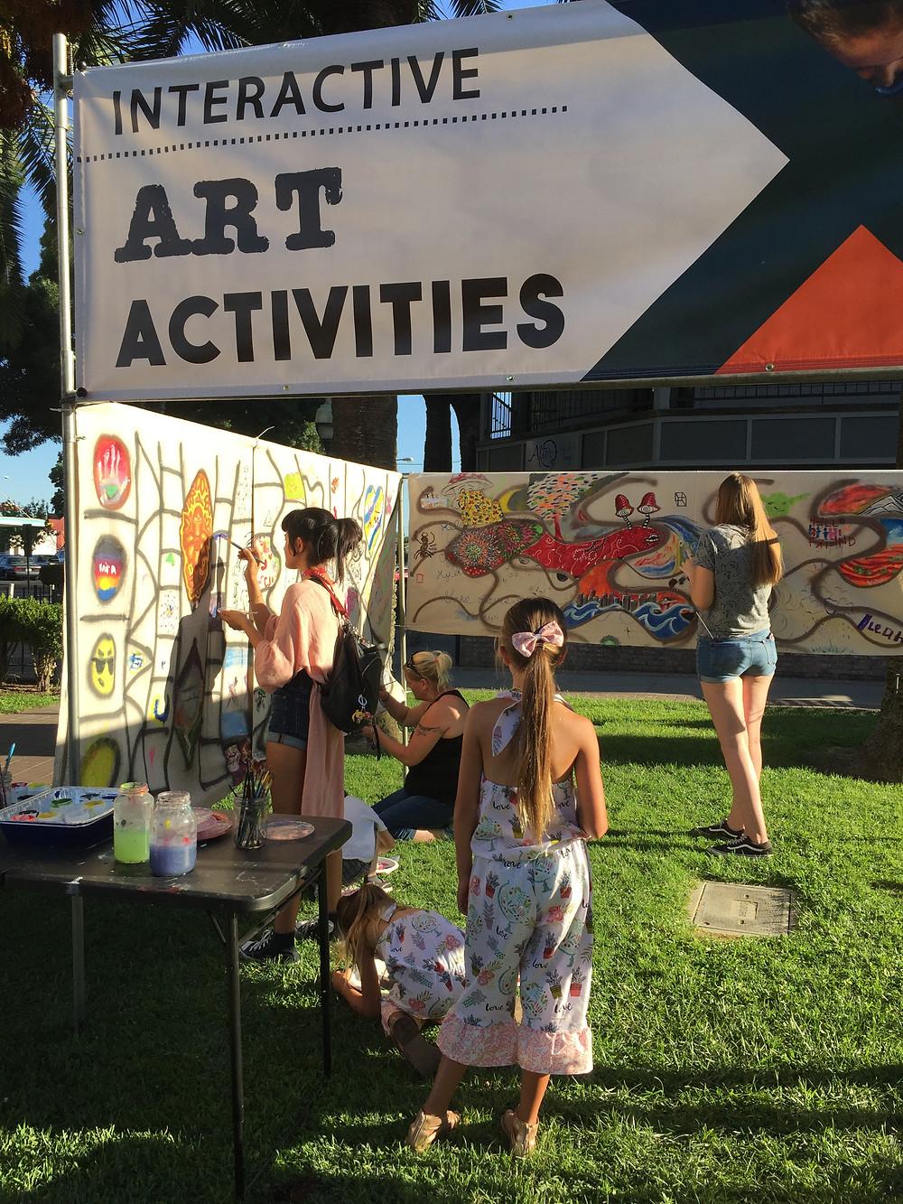 Community Paint Wall