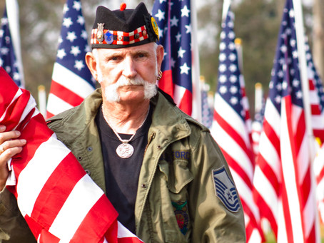 Merced Sunrise Rotary recognizes local veterans, active duty military and first responders.