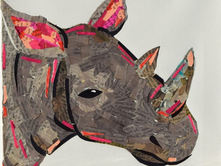 Zoo keeper - Sofia Prado - fills gallery with animal inspired art in downtown Merced