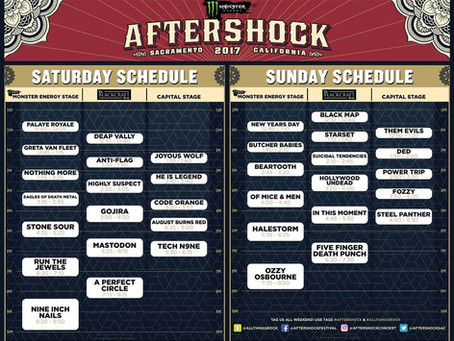 New lineup after Marilyn Manson cancels  Aftershock 2017