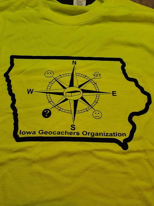 IGO Compass, Safety Green T-Shirt