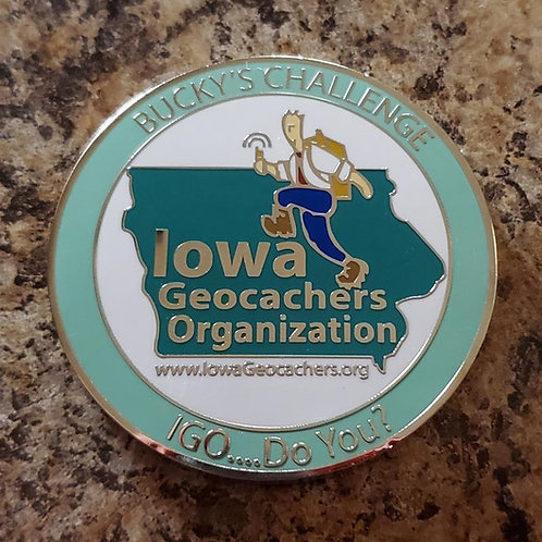 Bucky's Challenge Coin 2020