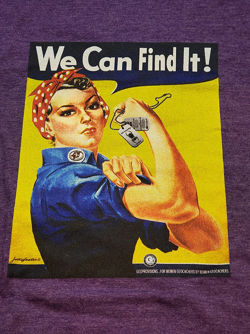 We Can Find It!, Heather Purple T-Shirt