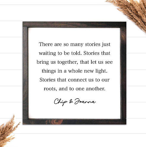 Chip & Joanna Quote
