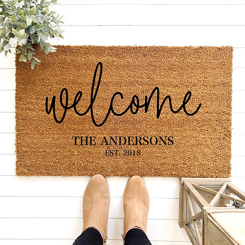 Last Name - Welcome