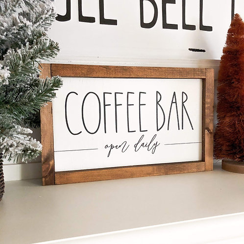 Coffee Bar - Open Daily