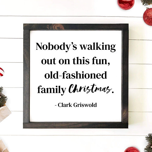 Old Fashioned Family Christmas