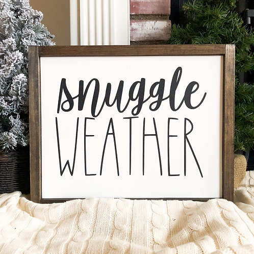 Snuggle Weather