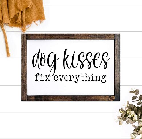 Dog Kisses Fix Everything