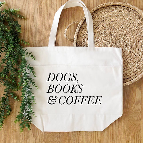 Dogs, Books, Coffee