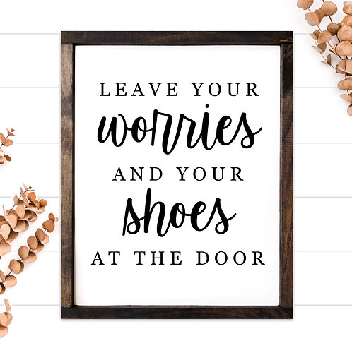 Worries and Shoes