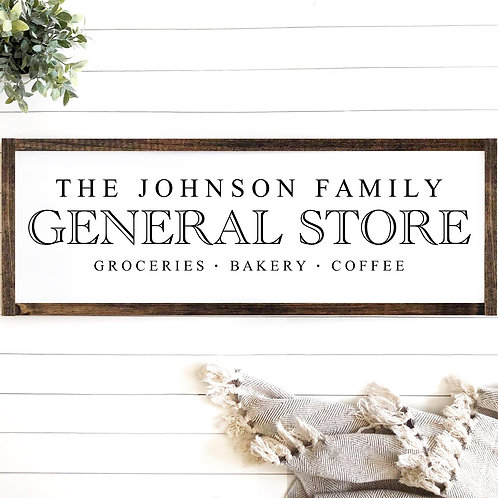 The Family Store - Personalized