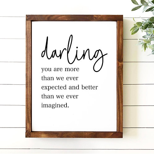 Darling You Are
