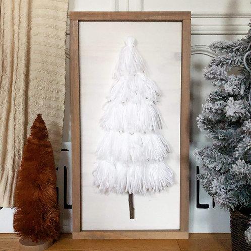 Tassel Tree - White