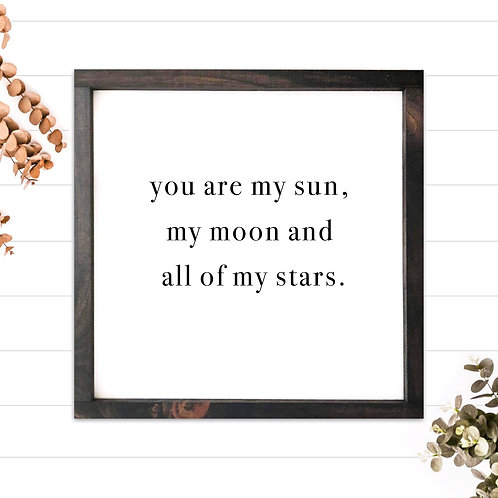 My Sun, My Moon