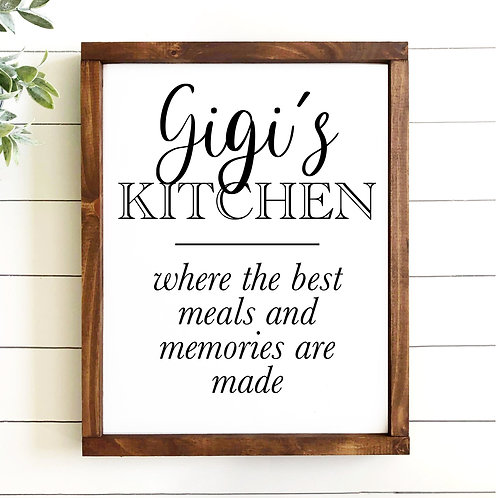 Gigi's Kitchen (Personalize)