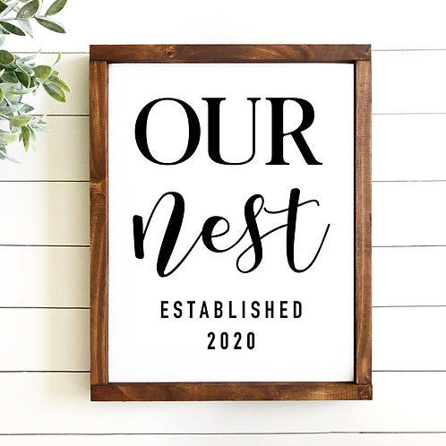 Our Nest - Est. Year