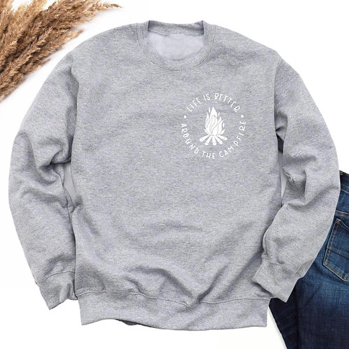 By the Fire Crewneck