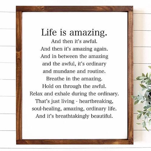 Life is Amazing