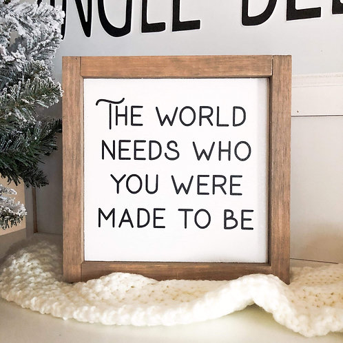 The World Needs You (#2)