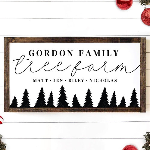 Custom Family Tree Farm