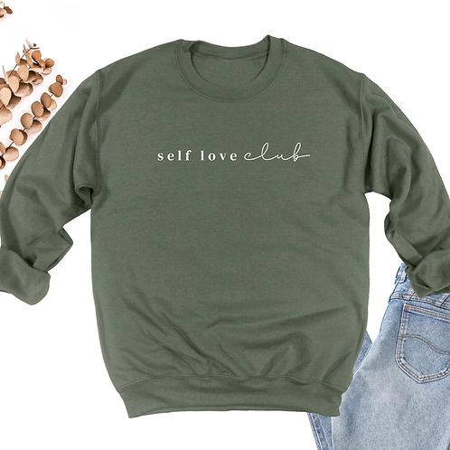 Self Love Club Crewneck