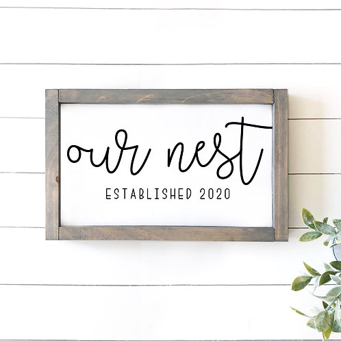 Our Nest - Est Year