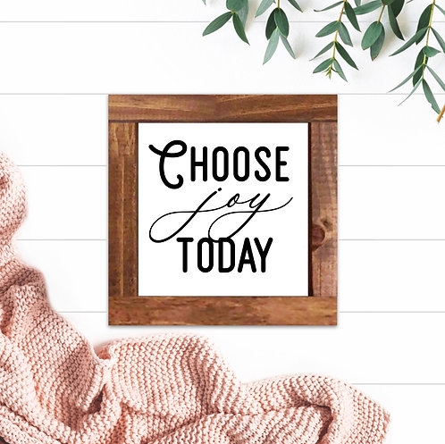 Choose Joy Today