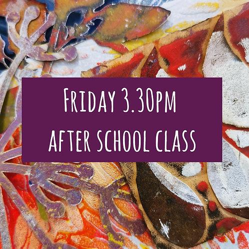 Fri 3.30pm After School Art Course