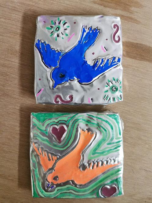 Tues 3rd Aug 1 - 2.30pm - Mexican Folk Art Tiles