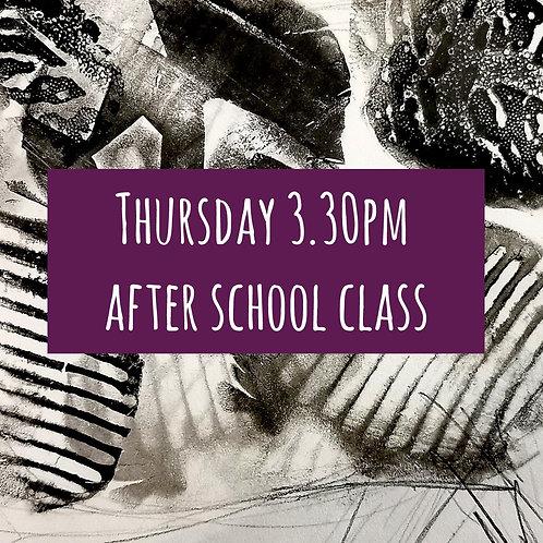 Thurs 3.30pm After School Art Course