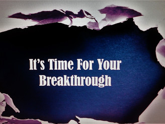 Contending For Breakthrough