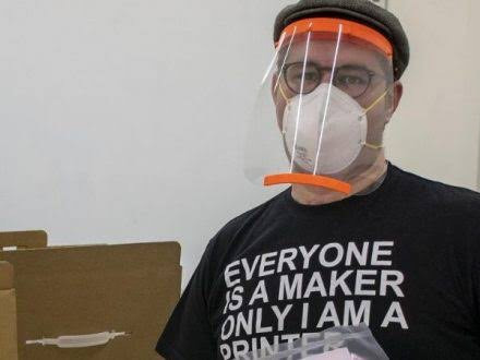 Prusa Protective Face Shield