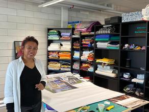 DNext découvre l'atelier créatif de production de Caritas Genève
