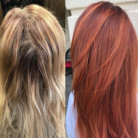 Im in love with this color transformatio