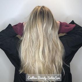#Blonde #hair for days!! This blonde bab
