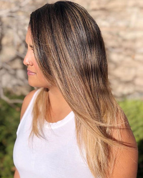 What a BEAUTIFUL #balayage by our talent