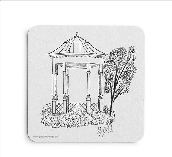 Marietta Paper Coaster Set of 5