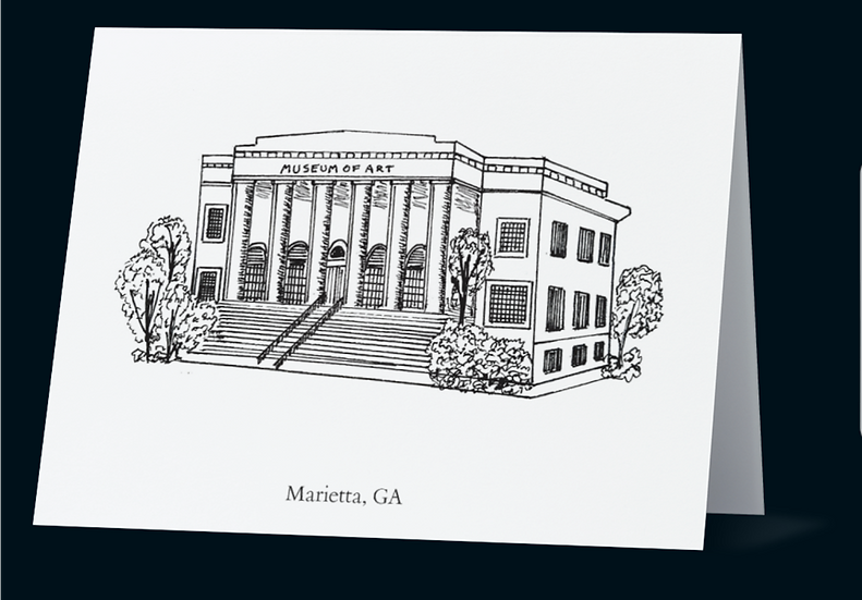 Marietta Notecards Set of 5