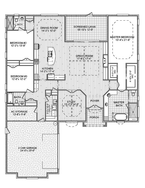 Broadmoor Left Florida Style Floorplan.j