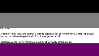 Définition des orientations sexuelles et identités de genres 1/3.